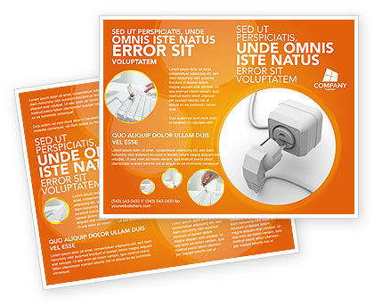 Technology, Science & Computers: Internet Point Brochure Template #03244