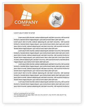 Internet Point Letterhead Template, 03244, Technology, Science & Computers — PoweredTemplate.com