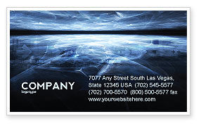 Abstract/Textures: Cyberspace Business Card Template #03260