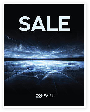 Abstract/Textures: Cyberspace Sale Poster Template #03260