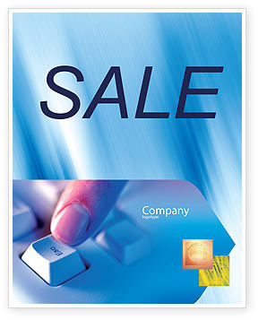 Escape Key Sale Poster Template, 03269, Technology, Science & Computers — PoweredTemplate.com