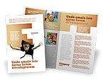 Business Concepts: 팜플릿 템플릿 - 어린이 놀람 #03270