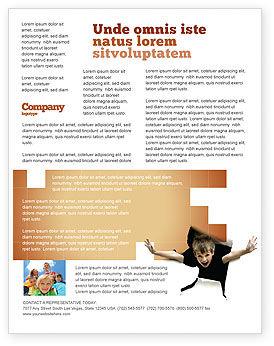 Business Concepts: Kinder Surprise Flyer Template #03270