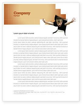 Business Concepts: Children's Surprise Letterhead Template #03270