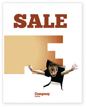 Children's Surprise Sale Poster Template, 03270, Business Concepts — PoweredTemplate.com