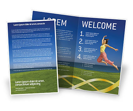 Consulting: Happiness Brochure Template #03273