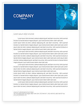 Global: Worldwide Letterhead Template #03279