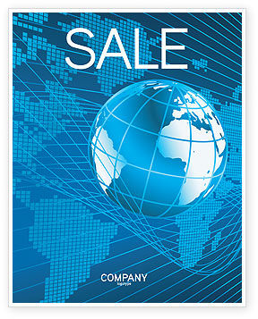 Global: Worldwide Sale Poster Template #03279