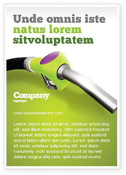 Nature & Environment: Biofuel Ad Template #03288