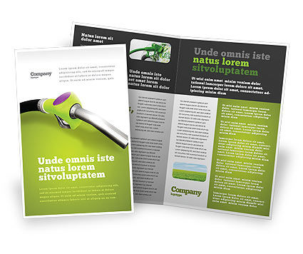 Nature & Environment: Biofuel Brochure Template #03288