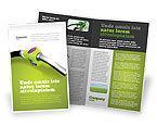 Nature & Environment: Biofuel Brochure Template #03288