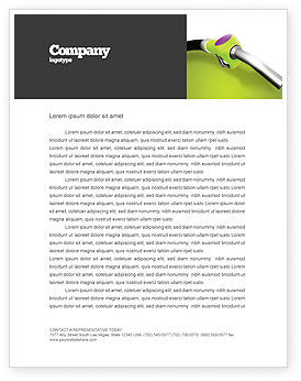 Nature & Environment: Biofuel Letterhead Template #03288