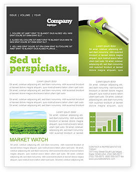 Biofuel Newsletter Template