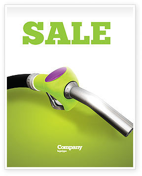 Nature & Environment: Biofuel Sale Poster Template #03288