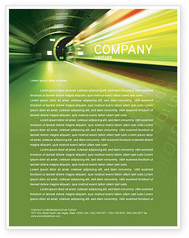 Technology, Science & Computers: Connections Letterhead Template #03295