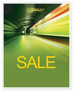 Connections Sale Poster Template, 03295, Technology, Science & Computers — PoweredTemplate.com