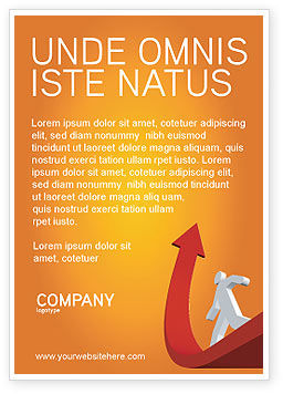 Careers/Industry: Carrière Jump Advertentie Template #03296