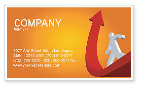 Careers/Industry: Career Jump Business Card Template #03296