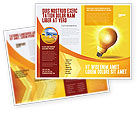 Business Concepts: Bright Idea Brochure Template #03307