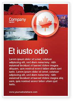 Canada Sign Ad Template