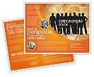 Consulting: Modelo de Brochura - silhuetas de pessoas #03317