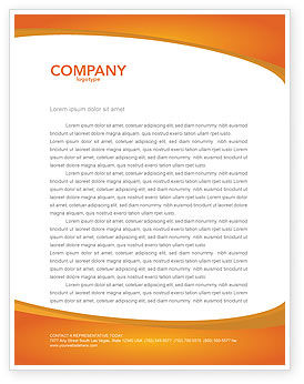 Silhouettes Of People's Letterhead Template