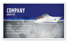 Sea Liner Business Card Template