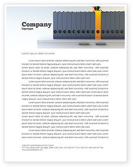 Business Concepts: Document Filing Letterhead Template #03322
