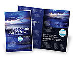 Nature & Environment: Modello Brochure - Acqua di mare #03324