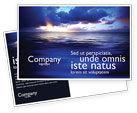 Nature & Environment: Sea Water Postcard Template #03324
