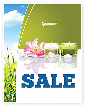 Careers/Industry: SPA Treatment Sale Poster Template #03328