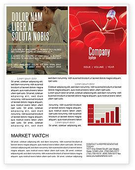 Medical: Nanotechnology In Medicine Newsletter Template #03329