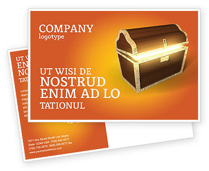 Business Concepts: Modello Cartolina - Tesoro #03343