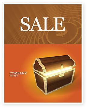 Business Concepts: Treasure Sale Poster Template #03343