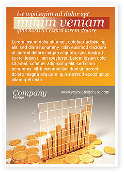 Financial/Accounting: Treasure Diagram Advertentie Template #03350
