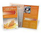Financial/Accounting: Modello Brochure - Schema di treasure #03350