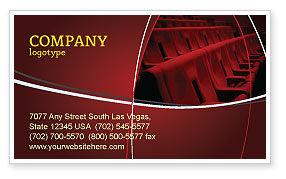 Art & Entertainment: Plantilla de tarjeta de visita - estreno #03369