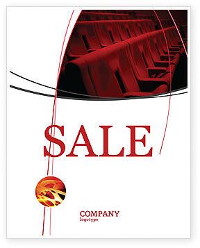 Art & Entertainment: Premiere Sale Poster Template #03369