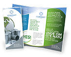 Nature & Environment: Refuse Bin Brochure Template #03371