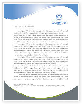 Nature & Environment: Refuse Bin Letterhead Template #03371