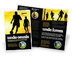 Sports: European Football Brochure Template #03372