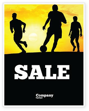 Sports: European Football Sale Poster Template #03372