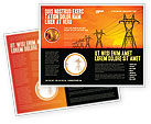 Utilities/Industrial: Transmission Facilities Brochure Template #03380