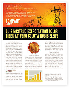 Utilities/Industrial: Transmission Facilities Newsletter Template #03380
