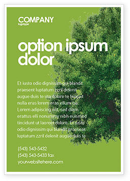 Nature & Environment: Yggdrasill Advertentie Template #03382