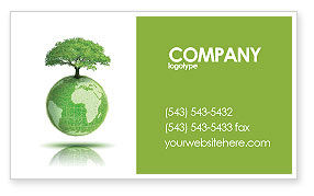 Nature & Environment: Yggdrasill Business Card Template #03382