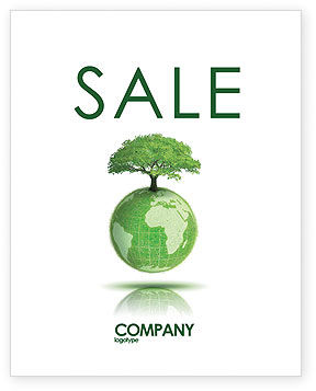 Nature & Environment: Yggdrasill Sale Poster Template #03382