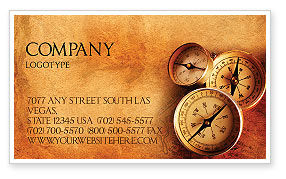 Careers/Industry: Quest Business Card Template #03384