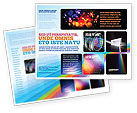 Technology, Science & Computers: Prism Brochure Template #03386