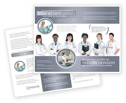 Medical Interns Brochure Template Design and Layout Download Now – Medical Brochure Template